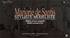 Preview of marjoriedesantis.fr
